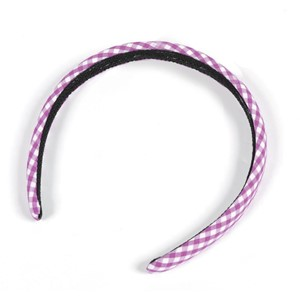 Gingham Alice Band