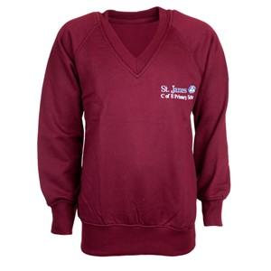 Sweatshirt V-Neck St James Weybridge