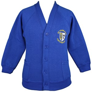 Cardigan Sweatshirt St. Thomas of Canterbury (Mitcham)