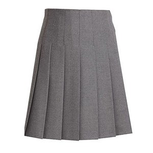 Senior Sizes Stitch Down Pleated Skirt (Special Order)