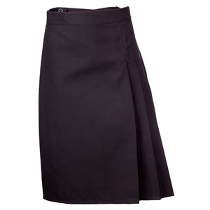 3 Side Pleat - Inside Adjustable Skirt