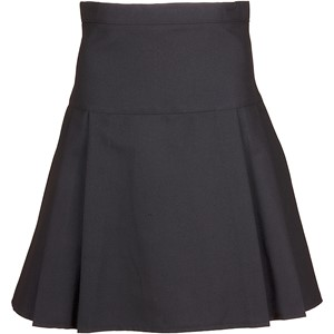Triple Pleat Poly Viscose Adjustable Skirt