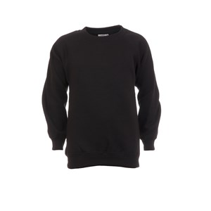 SweatshirtRoundneck-cotton-Black