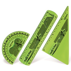 Twist 'N' Flex Kit 3 Pce Ruler Set