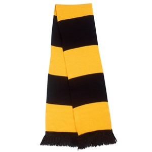Team Scarf Black/ Gold