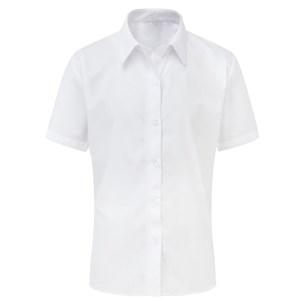 Contemporary Shirt - Non Iron - Short Sleeve Tie Collar - Twin Pack