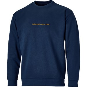 Sweatshirt Roundneck Telferscot Primary