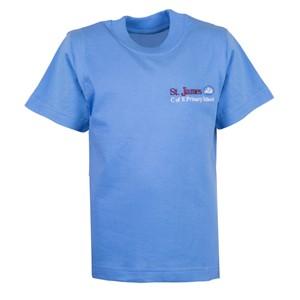 T-Shirt St James Weybridge P.E.