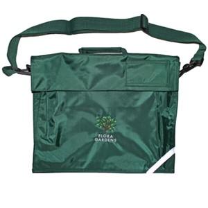 Book bag premium w/strap Flora Gardens