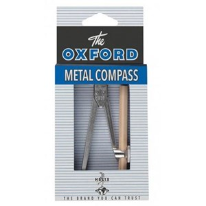 Vintage Oxford Metal Compass