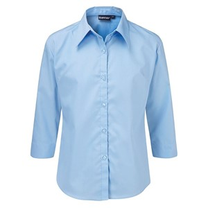 Blouses Non Iron 3/4 Tie Fitted - Twin