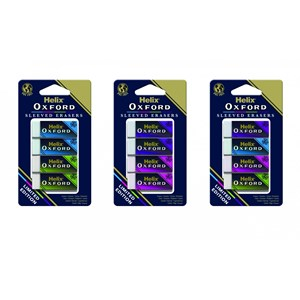 Oxford Erasers - Assorted Colours