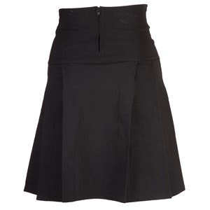 Triple Pleat - Bengaline - Fitted - Skirt