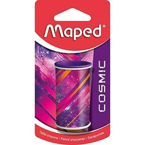 MAPED Cosmic 1 Hole Canister Pencil Sharpener