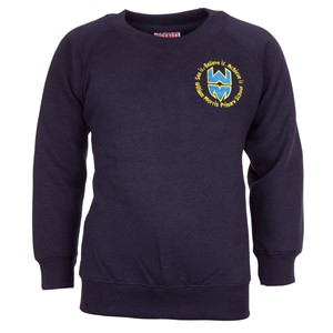 Sweatshirt Roundneck William Morris