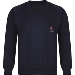 Sweatshirt V-Neck Ravenstone Cotton Option - Made to Order (Non-Returnable)