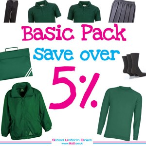 St. Annes Chertsey Primary Basic Pack