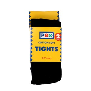Tights Cotton Rich - 2 Pack