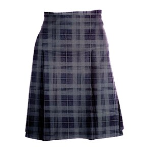 Triple Pleat Tartan Skirt St. Martin / Kensington KAA (SPEICAL ORDER)