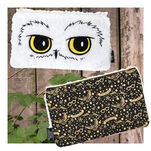 Harry Potter Hedwig Plush Pencil Case