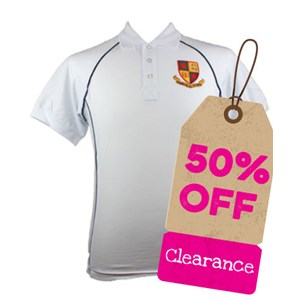 Clearance - Polo Shirt Bishop David Brown P.E.