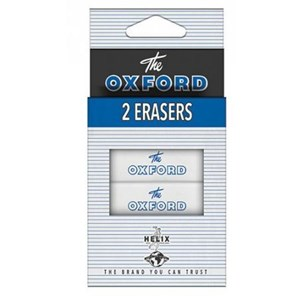Vintage Oxford Eraser - Twin Pack
