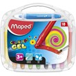 Maped Gel Color'Peps Smoothy Crayons (10 pack)