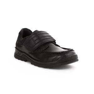 Boyss Buckle My Shoe Trad Single Strap Moc Front Shoe