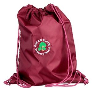 Drawstring bag w/pocket Ongar Place