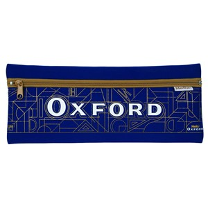 "Oxford Neoprene 13"" x 5"" Blue Pencil Case"