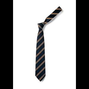 Tie Navy orange
