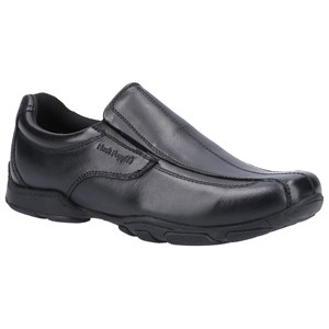 BLACK ELIJAH SENIOR SCHOOL SHOE