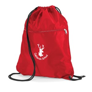 Drawstring bag with a zip Oatlands Primary