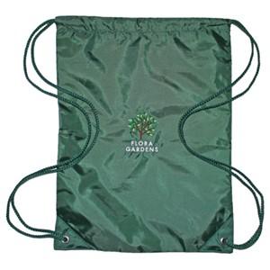 Drawstring bag Flora Gardens