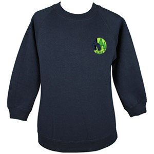 Sweatshirt Roundneck Cricket Green