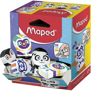 Maped Assorted Animal Erasers