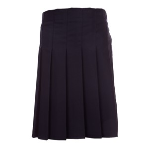 Junior Davenport Knife Pleated Elastic Back Skirt