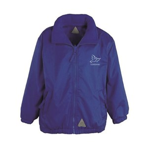 Reversible Fleece Jacket St. Charles Borromeo