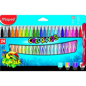 Felt Tips Colour peps Jungle x24 845422