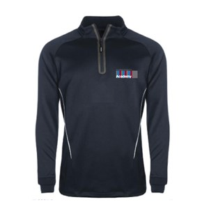 Hammersmith Academy - Performance 1/4 Zip Training Top P.E.