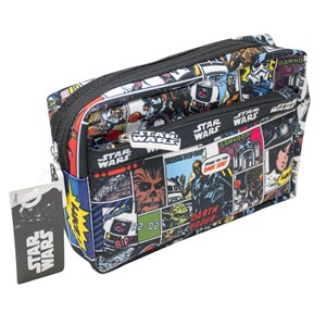 STAR WARS Retro Multi Pocket Pencil Case