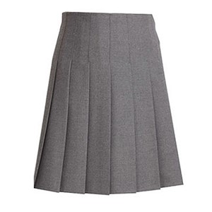 Stitch Down Pleated Skirt