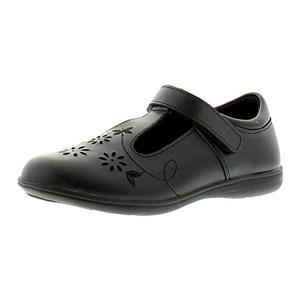 Girls Buckle My Shoe TBar Flower Shoe