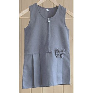 Pinafore - Zip With Bow