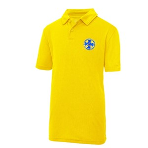 Polo Shirt Technical St. Cuthberts with St. Matthias