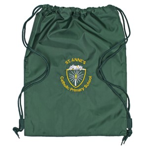 Drawstring bag w/pocket St. Anne's Chertsey