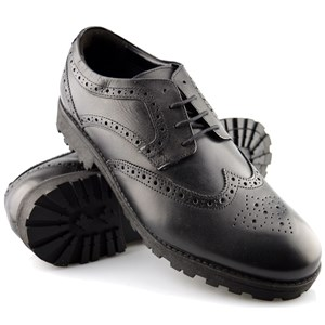 Unisex Leather Airsoft Brogue