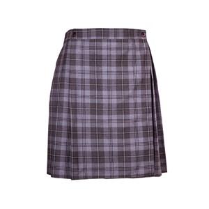 Kilt Skirt -  Grey Tartan
