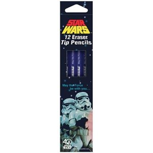 Star Wars Retro HB Pencils x 12