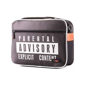 Highly Explicit Messenger Bag